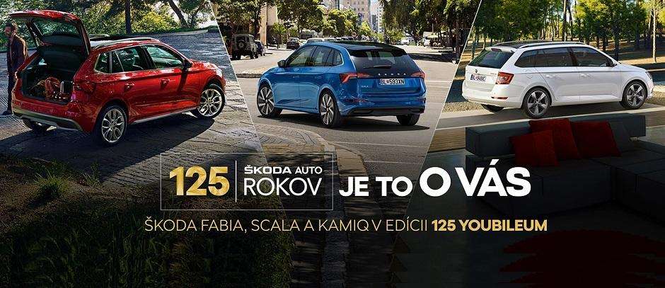 Edícia ŠKODA 125 YOUBILEUM