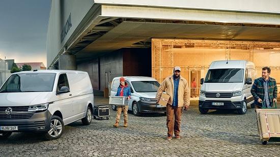 Akčné modely Volkswagen Úžitkové vozidlá