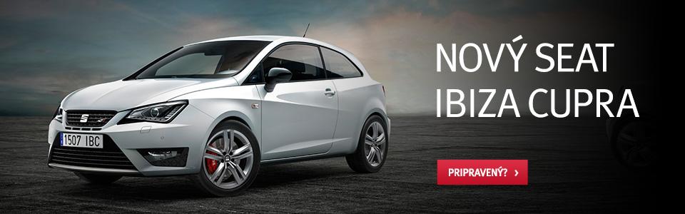 Nový SEAT Ibiza Cupra