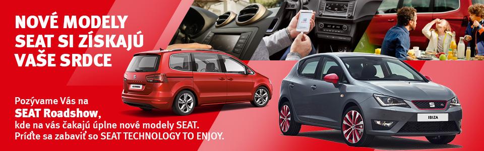 Nové modely SEAT si získajú vaše srdce